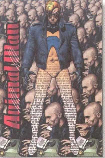 Bestselling Comics (2006) - Deus Ex Machina (Animal Man, Book 3) by Grant Morrison