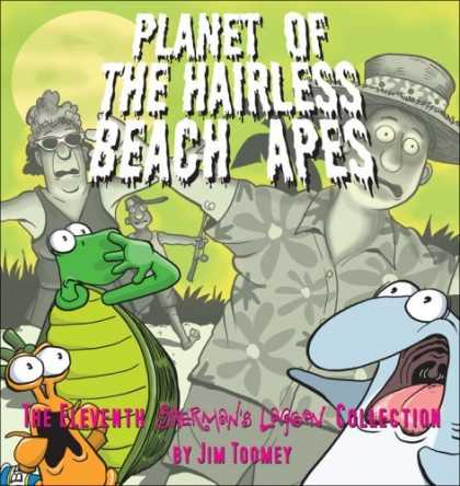 Bestselling Comics (2006) - Planet of the Hairless Beach Apes: The Eleventh Sherman's Lagoon Collection (She