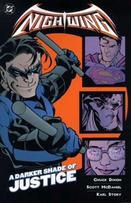 Bestselling Comics (2006) - Nightwing: A Darker Shade of Justice by Chuck Dixon - Diamond - Superman - A Darker Shade Of Justice - Chuck Dixon - Scott Mcdaniel