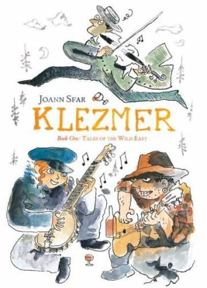 Bestselling Comics (2006) - Klezmer: Tales of the Wild East by Joann Sfar