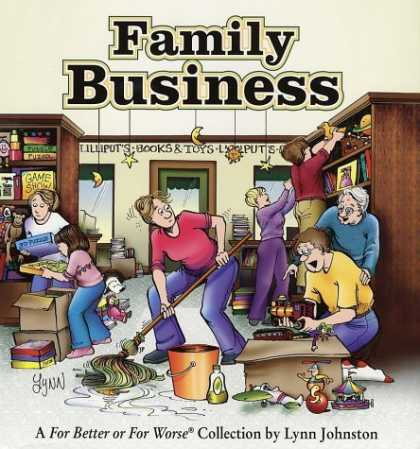 Bestselling Comics (2006) - Family Business: For Better Or For Worse Collection by Lynn Johnston