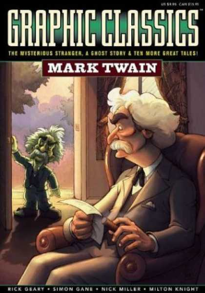Bestselling Comics (2006) - Graphic Classics: Mark Twain (Graphic Classics (Graphic Novels)) by Mark Twain - Graphic Classics - Mark Twain - The Mysterious Stranger - A Ghost Story - Ten More Great Tales