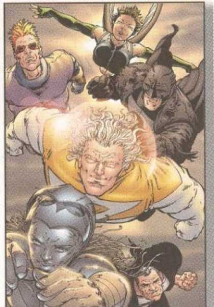 Bestselling Comics (2006) - Absolute Authority, The: Volume two by Mark Millar - Flying - Superhero - Powers - Fighters - Comic