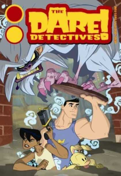 Bestselling Comics (2006) - The Dare Detectives Volume 1: The Snowpea Plot (Dare Detectives) by Ben Caldwell