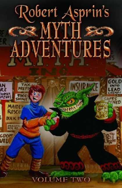 Bestselling Comics (2006) - Robert Asprin's Myth Adventures Volume 2 (Myth Adventures) by Robert Asprin