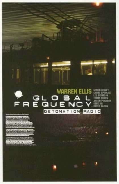 Bestselling Comics (2006) - Global Frequency Vol. 2: Detonation Radio by Warren Ellis