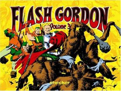 Bestselling Comics (2006) - Alex Raymond's Flash Gordon, Vol. 3 (Alex Raymond's Flash Gordon) by Alex Raymon - Flash Gordon - Checker - Super Heroes - Fight - Brawl