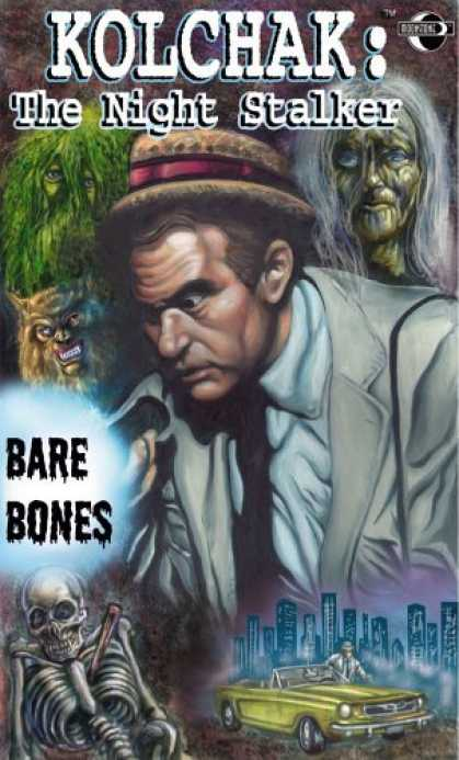 Bestselling Comics (2006) - Kolchak the Night Stalker: Bare Bones by Joe Gentile