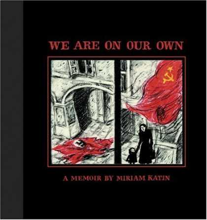 Bestselling Comics (2006) - We Are On Our Own by Miriam Katin - We Are On Our Own - Memoir - Miriam Katin - Sketch - Flag