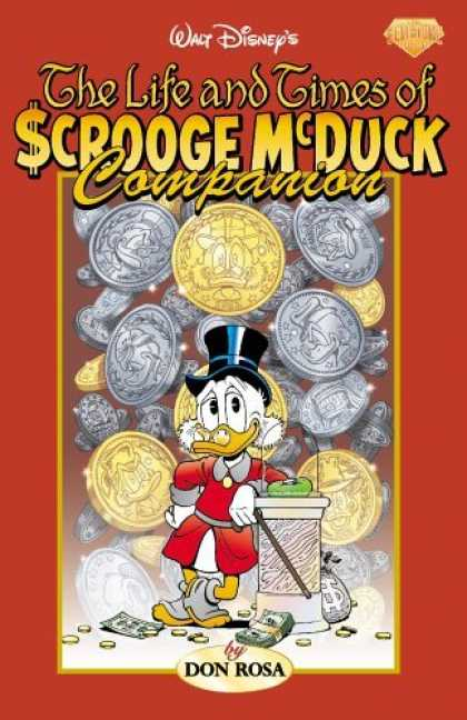 Bestselling Comics (2006) - The Life and Times of Scrooge McDuck Companion by Don Rosa - Don Rosa - Dollars - Coins - Scrooge Mcduck - Walt Disney