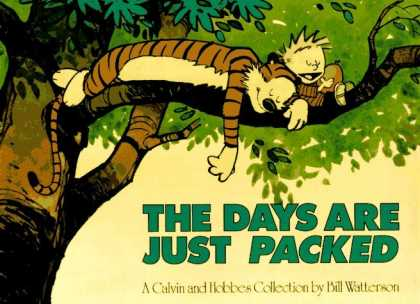 Bestselling Comics (2006) - The Days are Just Packed: A Calvin and Hobbes Collection by Bill Watterson