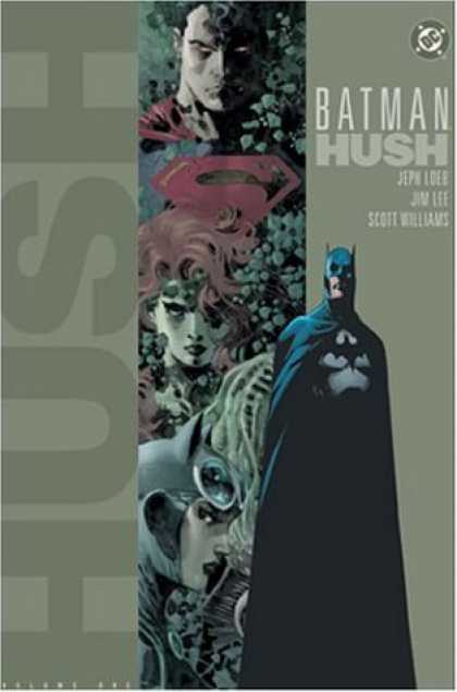Bestselling Comics (2006) - Batman: Hush, Vol. 1 by Jeph Loeb - Batman - Dc - Hush - Williams - Lee