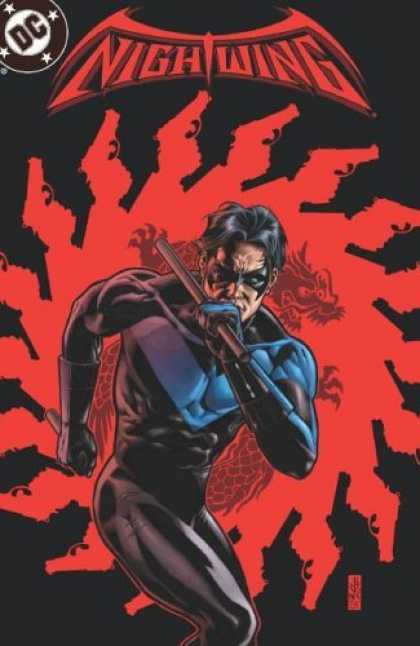 Bestselling Comics (2006) - Nightwing: On the Razors Edge - Volume 7 (Nightwing (Graphic Novels)) by Chuck D - Night Wing - Dc Comics - Robin - Batman - Dragon