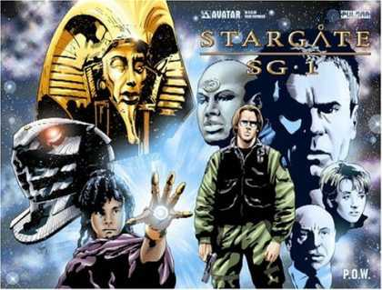 Bestselling Comics (2006) - Stargate SG-1: P.O.W. Volume 1 by James Anthony
