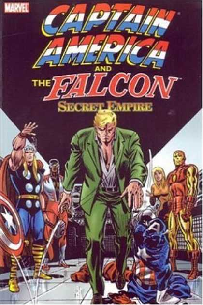 Bestselling Comics (2006) - Captain America & The Falcon: Secret Empire (Avengers) by Steve Englehart - Falcon - Captain America - Secret Empire - Thor - Iron Man