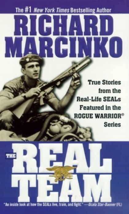 Bestselling Comics (2006) - The Real Team: Rogue Warrior (Rogue Warrior Series) by Richard Marcinko