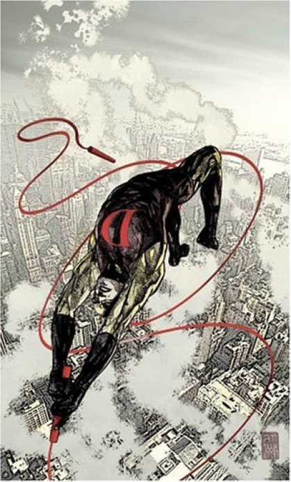Bestselling Comics (2006) - Daredevil Vol. 11: Golden Age by Brian Michael Bendis - Rope - Smoke - Legs - Arms - Buildings
