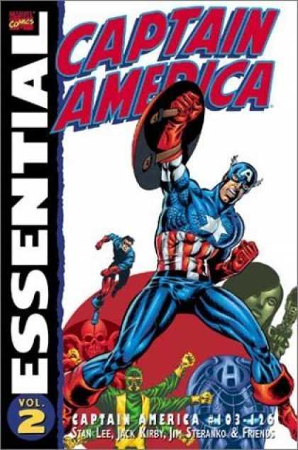 Bestselling Comics (2006) - Essential Captain America, Vol. 2 (Marvel Essentials) by Stan Lee