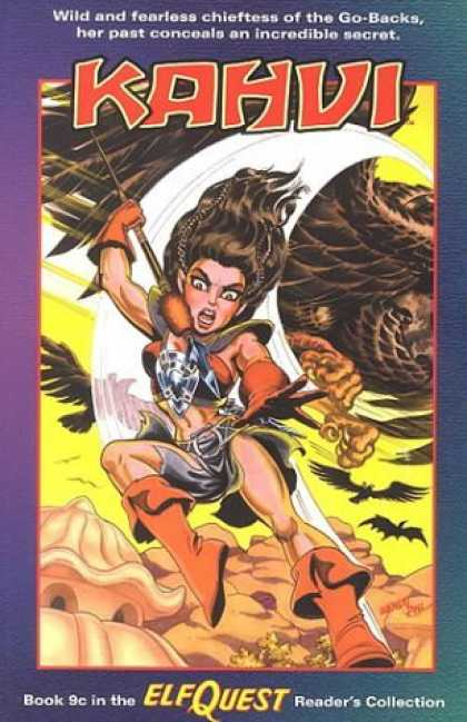 Bestselling Comics (2006) - Elfquest Reader's Collection #9c: Kahvi by Terry Collins - Elfquest - Kahui - Go-backs - Readers Collection - Collection