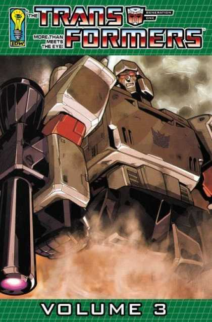Bestselling Comics (2006) - Transformers: Generation One Volume 3 by James McDonough - Volume 3 - Trans Formers - Meets The Eye - Beneartion - Idw