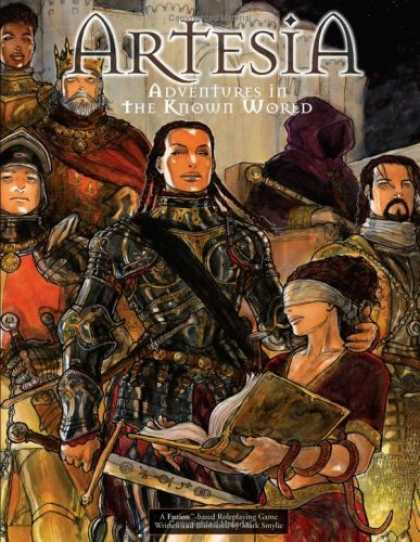 Bestselling Comics (2006) - Artesia: Adventures In The Known World RPG (Artesia) by Mark S. Smylie - Artesia - Crown - Adentures In The Known World - Blindfold - Book
