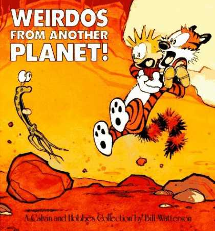 Bestselling Comics (2006) - Weirdos From Another Planet! by Bill Watterson - Weirdos - From Another - Planet - A Calvin And Hobbes - Bill Watterson