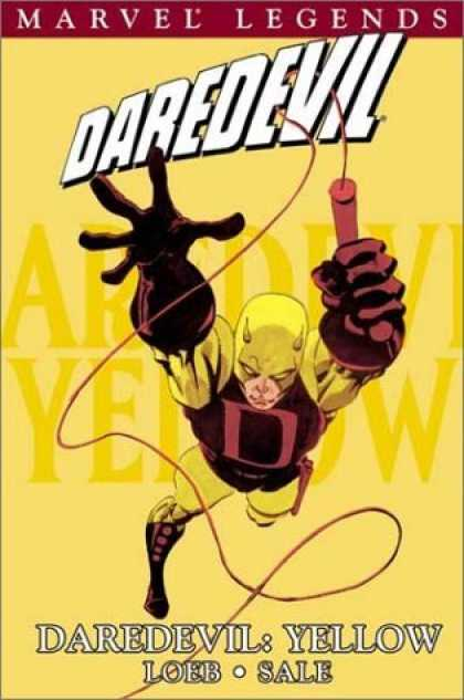 Bestselling Comics (2006) - Daredevil Legends Vol. 1: Yellow by Jeph Loeb
