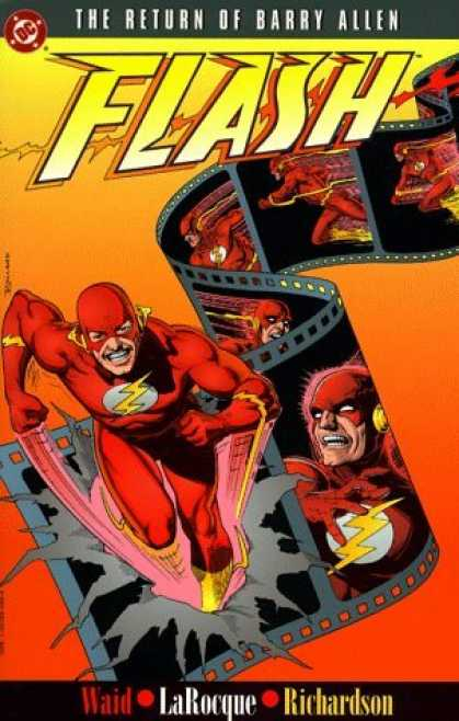 Bestselling Comics (2006) - The Flash: The Return of Barry Allen by Mark Waid - Flash - Film - Strip - Speed - Suit