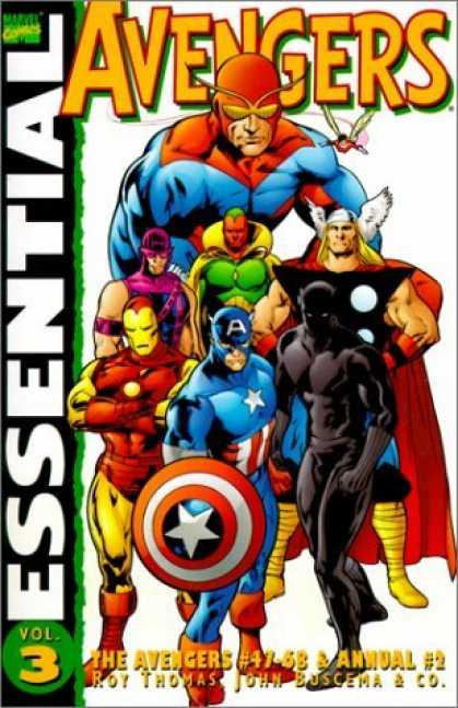Bestselling Comics (2006) - Essential Avengers, Vol. 3 (Marvel Essentials) by Roy Thomas - Team Winners - Team Work - Fighting Team - Colour Team - Strong Men And Women