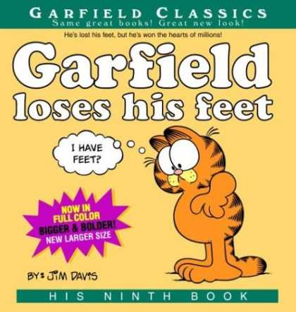 Bestselling Comics (2006) - Garfield Loses His Feet: His 9th Book (Garfield Classics) by Jim Davis