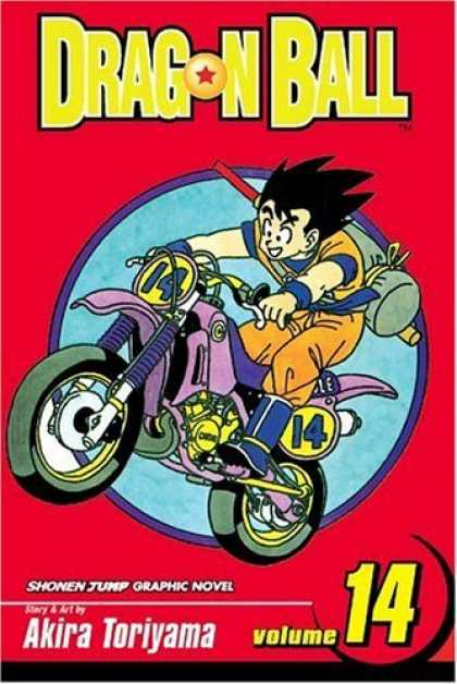 Bestselling Comics (2006) - Dragon Ball, Volume 14 (Dragon Ball) - Dragon Ball - Shonen Jump Graphic Novel - Motor Cycle - Volume 14 - Akira Toriyama