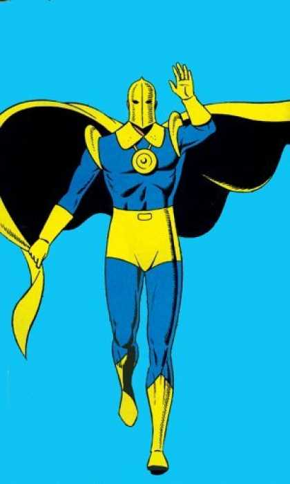 Bestselling Comics (2006) - Dr. Fate - Archive, Volume 1 (Archive Editions (Graphic Novels)) by Gardner Fox - Blue - Gold - Cape - Superhero - Mask