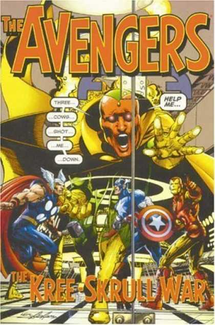 Bestselling Comics (2006) - Avengers: The Kree-Skrull War by Roy Thomas