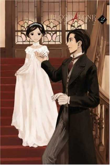 Bestselling Comics (2006) - Blood Alone Volume 2 by Masayuki Takano - Bride - Groom - Wedding Gown - Steps - Windows