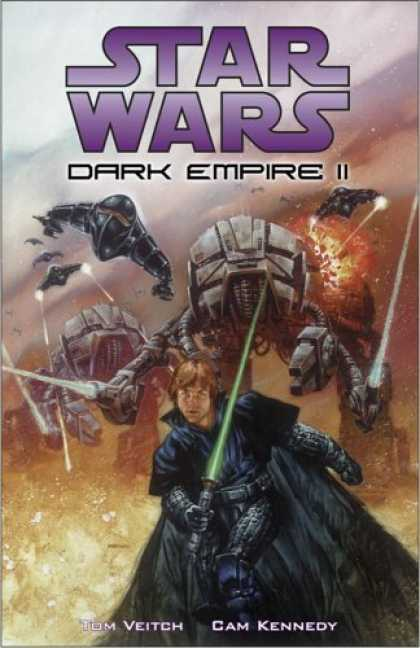 Bestselling Comics (2006) - Star Wars: Dark Empire II 2nd Edition (Star Wars: Dark Empire) by Tom Veitch - Star Wars - Action - Machines - Weapons - Fight