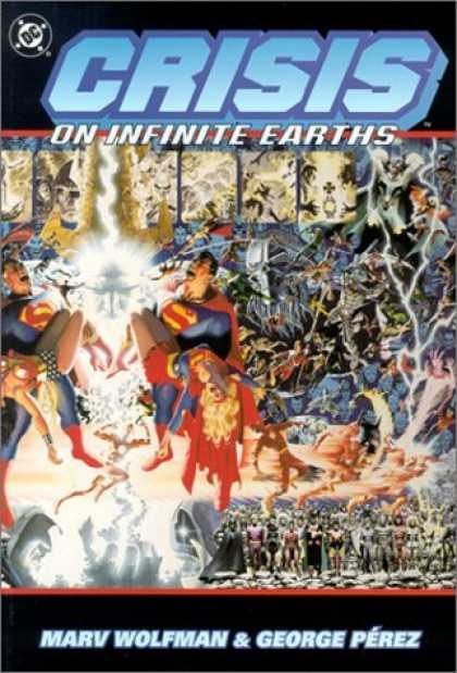 Bestselling Comics (2006) - Crisis on Infinite Earths by Marv Wolfman - Superman - Superwoman - Marv Wolfman - George Perez - Wonder Woman