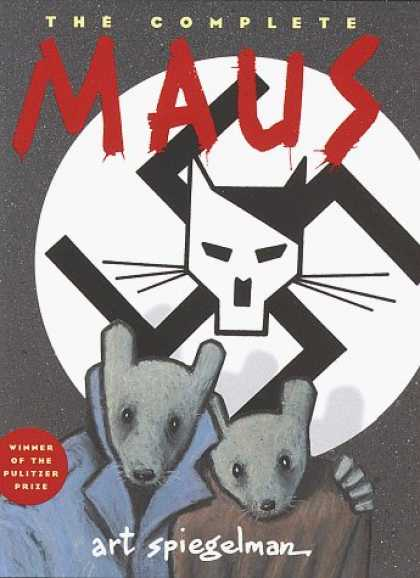 Bestselling Comics (2006) - The Complete Maus: A Survivor's Tale by Art Spiegelman - Maus - Mice - Swastika - Pulitzer Winner - Trench Coats