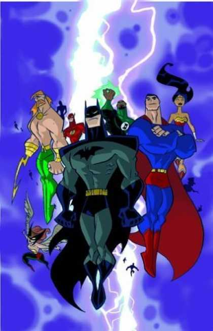Bestselling Comics (2006) - Justice League Unlimited: World's Greatest Heroes - Volume 2 (Justice League Unl - Batman - Superman - Wonder Woman - Lightning - Flying