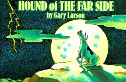 Bestselling Comics (2006) - Hound of the Far Side by Gary Larson - Hound Of The Far Side - Gary Larson - Cow - Moon - Rock