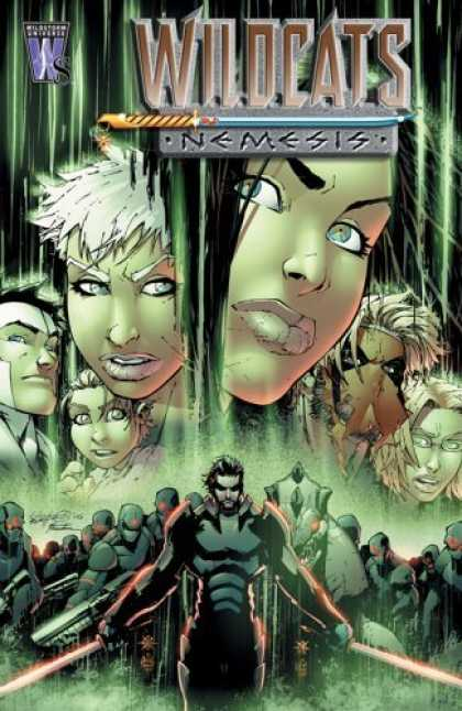 Bestselling Comics (2006) - Wildcats: Nemesis (Wildcats) by Robbie Morrison - Wildcats Nemesis - Girls - Faces - Luscious Lips - Armor