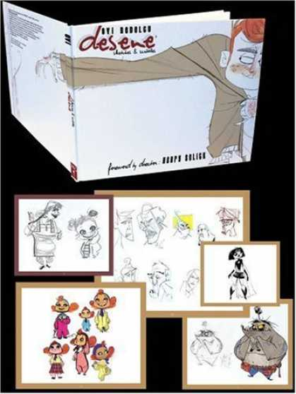 Bestselling Comics (2006) - Desene: Sketches & Scribbles by Ovi Nedelcu - Book - Assorted Drawings - Sketches - Characters - Monster