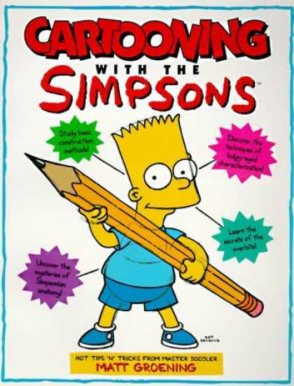 Bestselling Comics (2006) - Cartooning with the Simpsons by Matt Groening