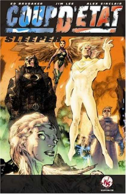 Bestselling Comics (2006) - Coup D'etat by Ed Brubaker - One Ghost - One Lady Ghost - Hands - One Women - In The Sky