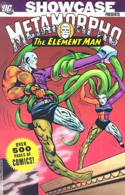 Bestselling Comics (2006) - Showcase Presents: Metamorpho, Vol. 1 (Showcase Presents Metamorpho) by Gardner - The Element Man - Over 500 Page Of Comics - Showcase Presents - One Woman - One Strong Man
