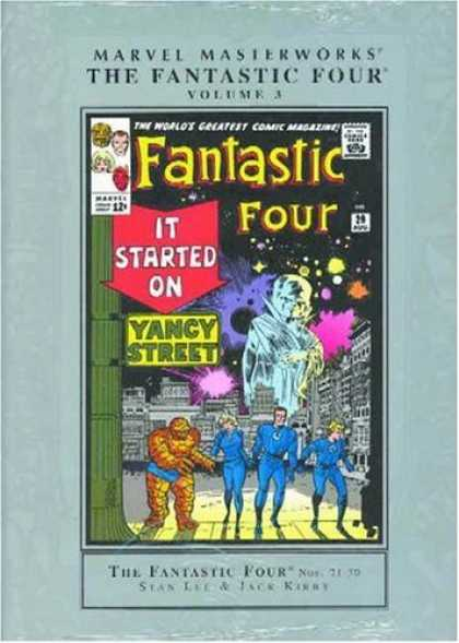 Bestselling Comics (2006) - Marvel Masterworks: Fantastic Four Vol. 3 by Stan Lee