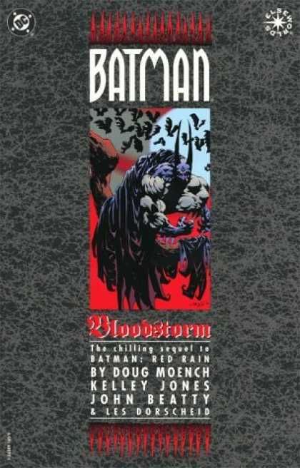 Bestselling Comics (2006) - Batman: Bloodstorm by Doug Moench - Bats - Man - Horror - Muscle - Scary