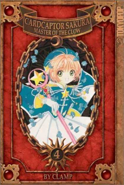 Bestselling Comics (2006) - Cardcaptor Sakura: Master of the Clow, Book 4 by Clamp - Cardcaptor Sakura - Master Of The Clow - Girl - Wand - By Clamp