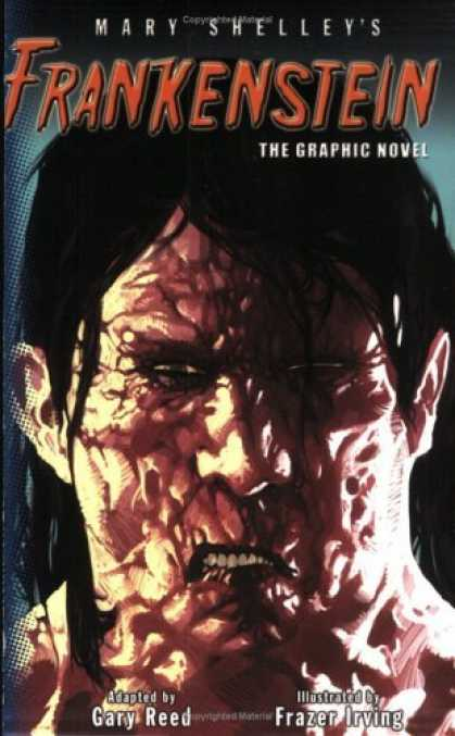 Bestselling Comics (2006) - Puffin Graphics: Frankenstein (Puffin Graphics (Graphic Novels)) by Mary Shelle - Mary Shelleys - The Graphic Novel - Gary Reed - Ugly - Frazer Irving