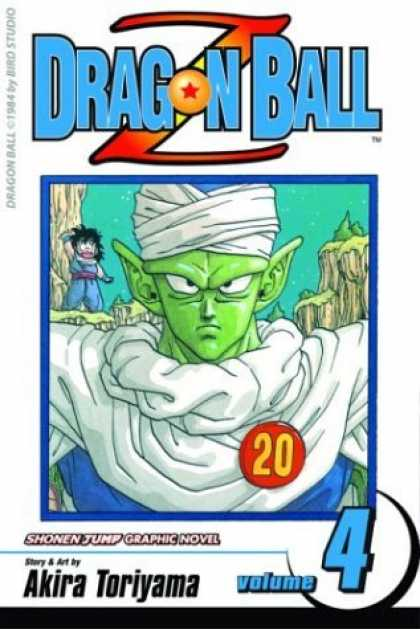 Bestselling Comics (2006) - Dragon Ball Z, Vol. 4 - Dragonball Z - Goku - Volume 4 - Shonen Jump - Anime