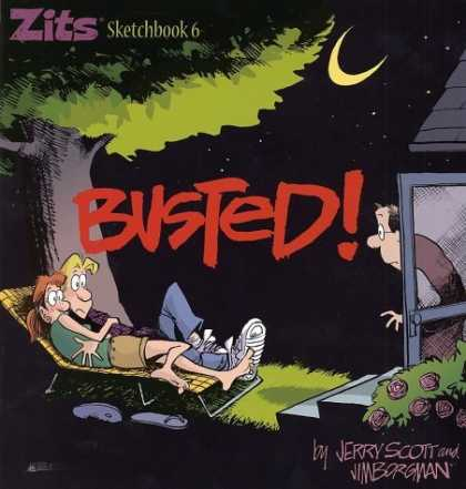 Bestselling Comics (2006) - Busted,Zits Sketchbook #6 by Jim Borgman